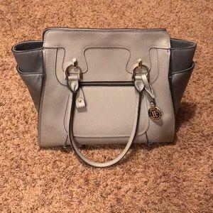 Gray London Fog purse